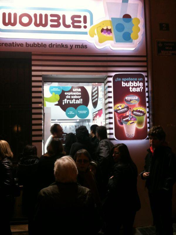 Tienda de Bubble Tea en Valencia