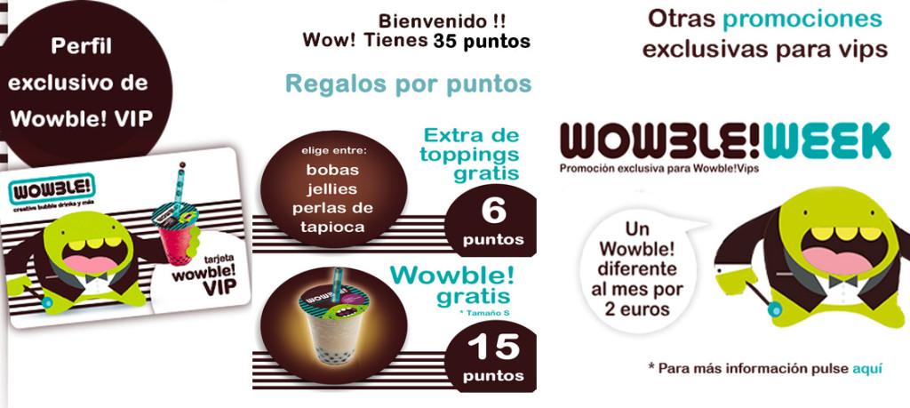 Perfil Wowble VIP web