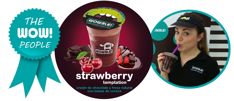 Strawberry Temptation, la nueva creación de edición limitada