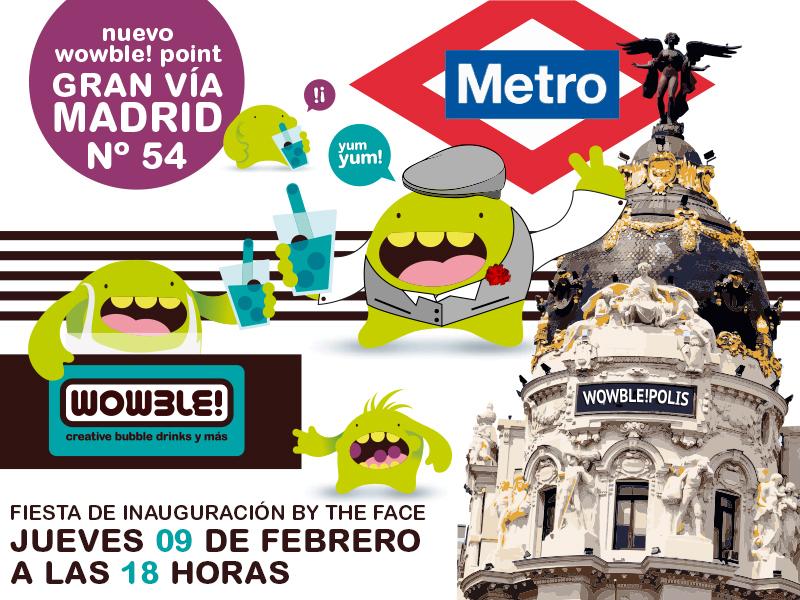 ¡Madrid allá vamos! Nuevo Wowble! Point en Gran Vía 👏👏