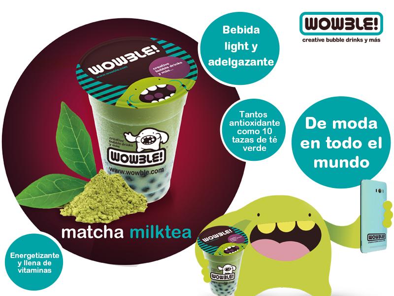 Té Matcha muy muy WOW ¡NUEVA CREACIÓN WOWBLE!
