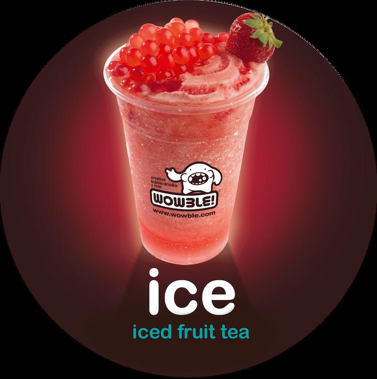 iced fruit tea