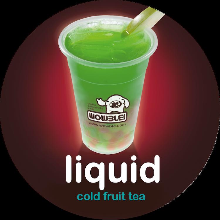 cold fruit tea