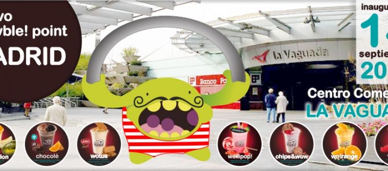 Las bubble drinks de Wowble! llegan al Centro Comercial La Vaguada