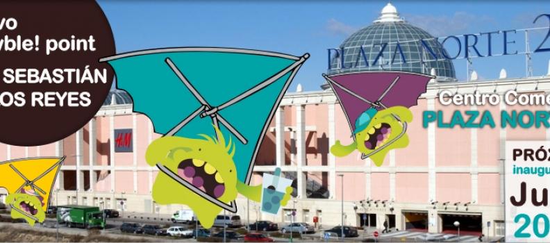 Wowble! conquista el Centro Comercial Plaza Norte 2