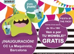 Bebidas gratis en la inauguración del centro comercial La Maquinista